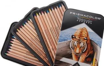 Наборы акварельных карандашей Prismacolor Watercolor
