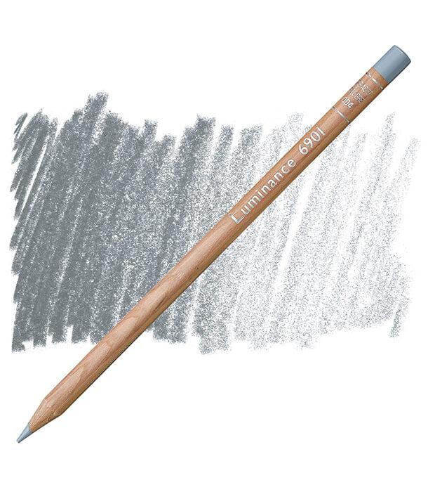 Карандаш Caran d'Ache Luminance 004 Steel Gray