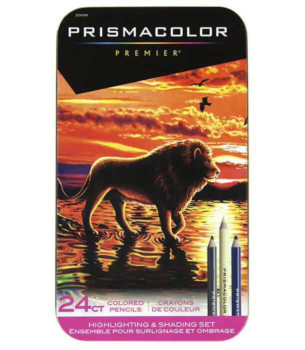 Набор карандашей Prismacolor Premier Highlighting and Shading (24 штуки)