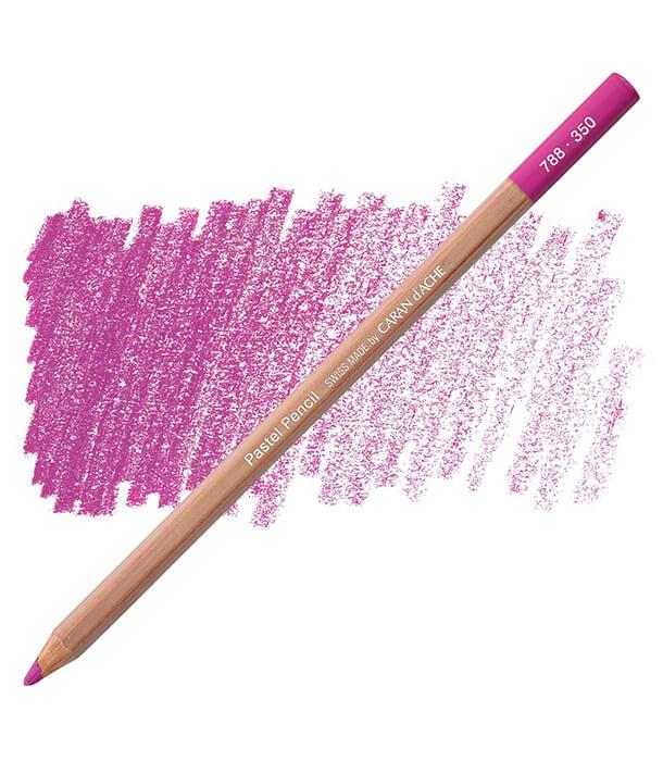 Карандаш Caran D'ache Pastel Pencil 350 Purplish Red