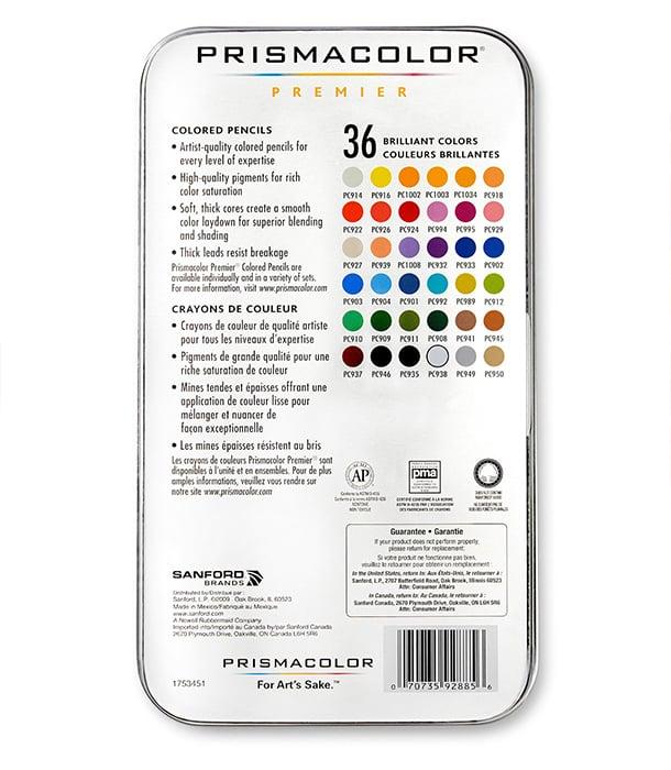 Набор карандашей Prismacolor Premier (36 штук)