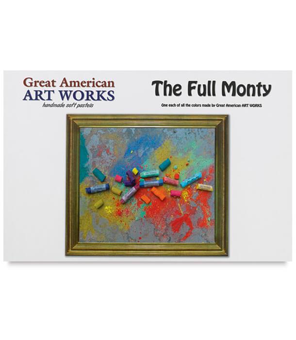 Пастель Great American Art Works Full Monty (468 штук)