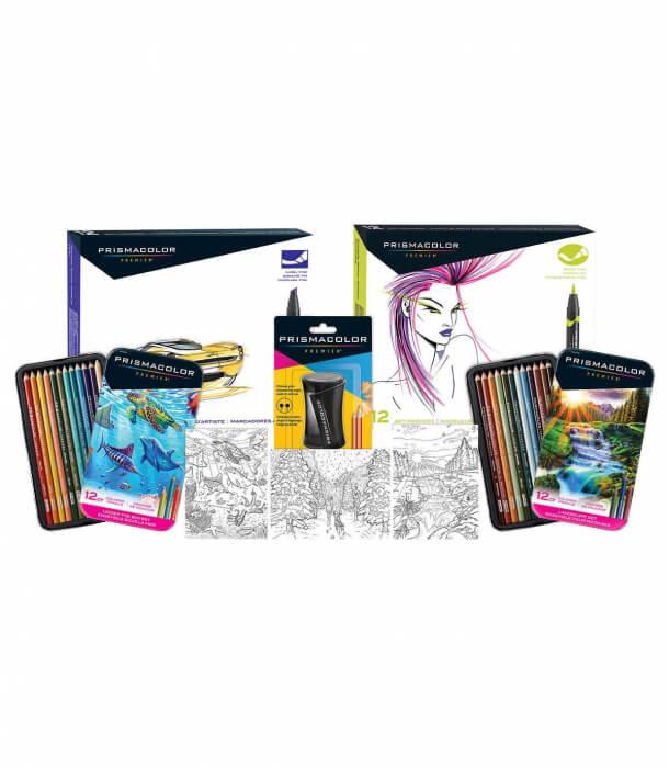Набор Prismacolor Premier Mixed Coloring Set (52 штуки)