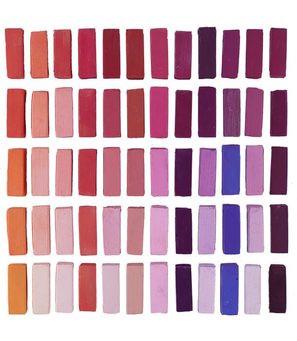 Пастель Terry Ludwig Soft Pastels - Vibrants (60 штук)