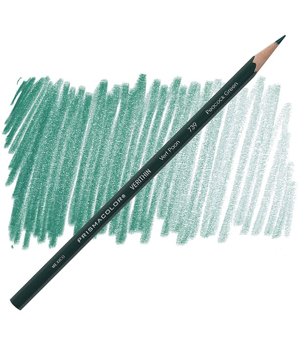 Карандаш Prismacolor Verithin 739 Peacock Green