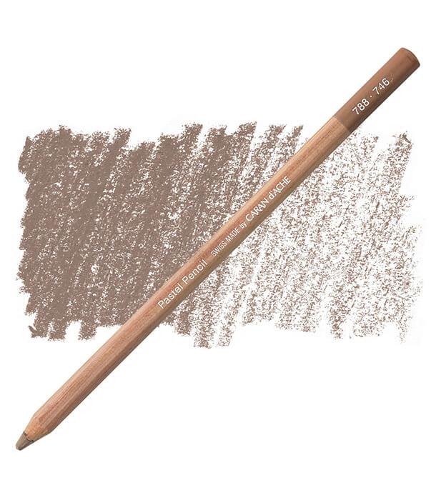 Карандаш Caran D'ache Pastel Pencil 746 Dark Flesh 50%