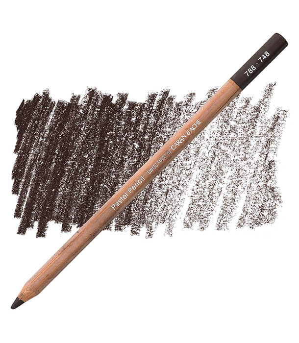 Карандаш Caran D'ache Pastel Pencil 748 Dark Flesh