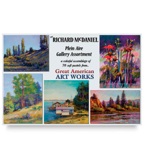 Пастель Great American Art Works McDaniel Plein Air (78 штук)