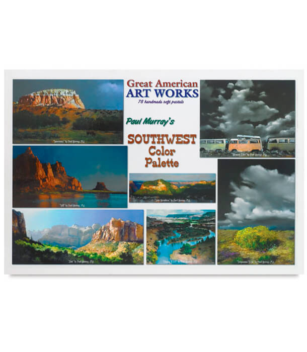 Пастель Great American Art Works Southwest Color Palette (78 штук)