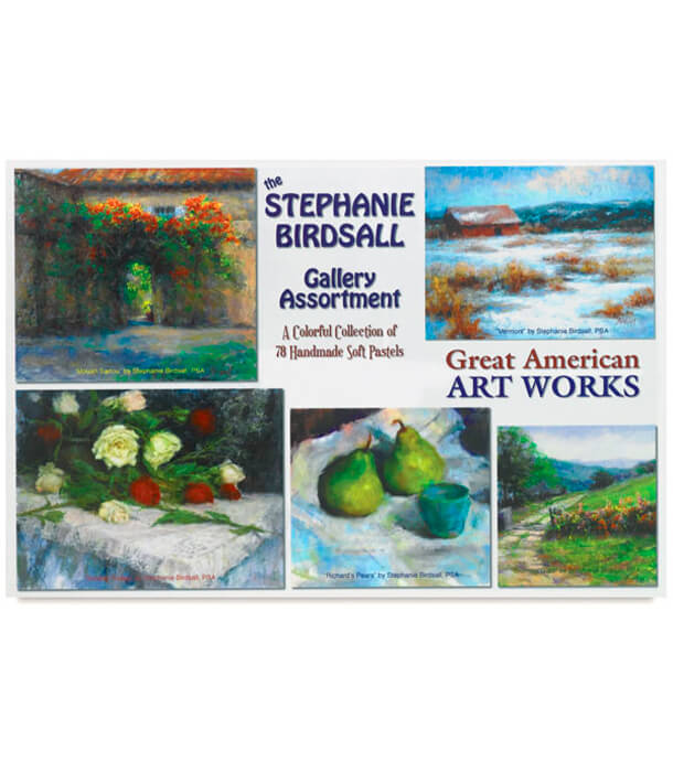 Пастель Great American Art Works Stephanie Birdsall Gallery (78 штук)