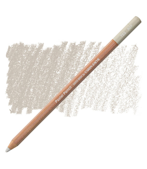 Карандаш Caran D'ache Pastel Pencil 802 French Gray 10%
