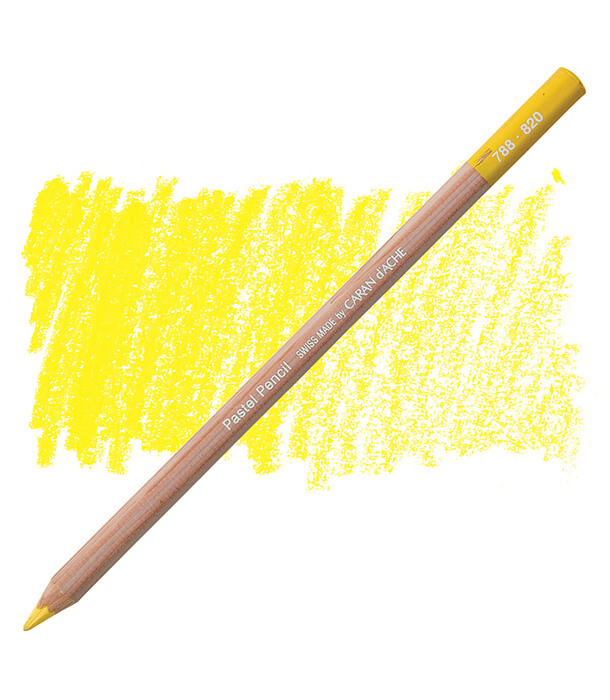 Карандаш Caran D'ache Pastel Pencil 820 Golden Bismuth Yellow