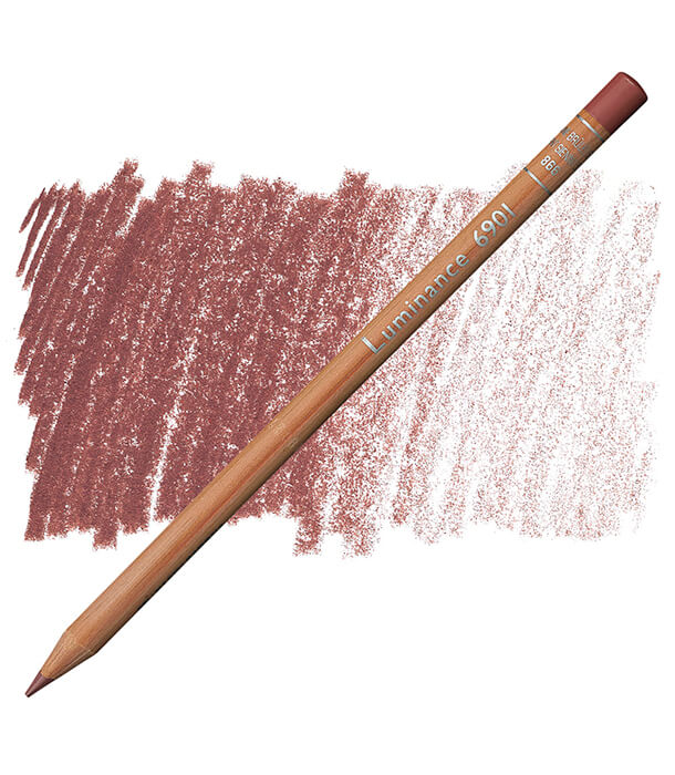 Карандаш Caran d'Ache Luminance 866 Burnt Sienna 50%