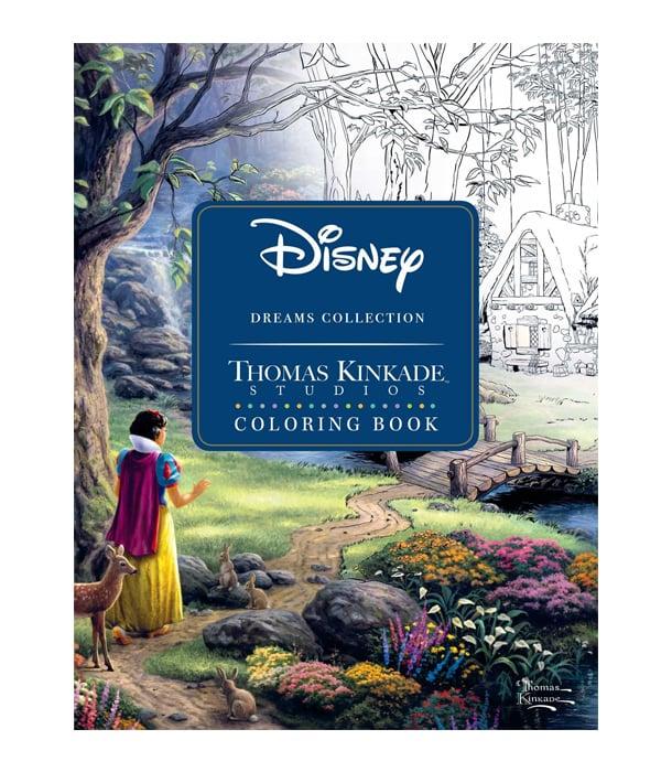 Раскраска Disney Dreams Collection от Thomas Kinkade Studios