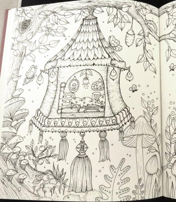 Раскраска Magical Delights от Klara Markova