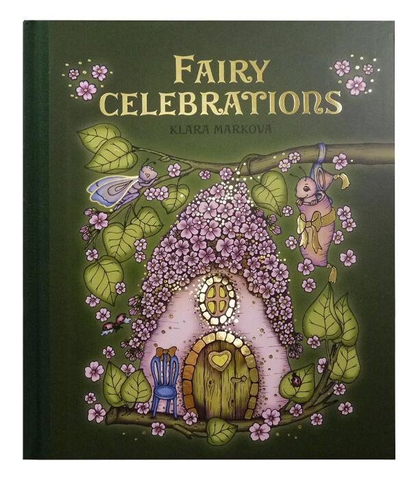 Раскраска Fairy Celebrations от Klara Markova