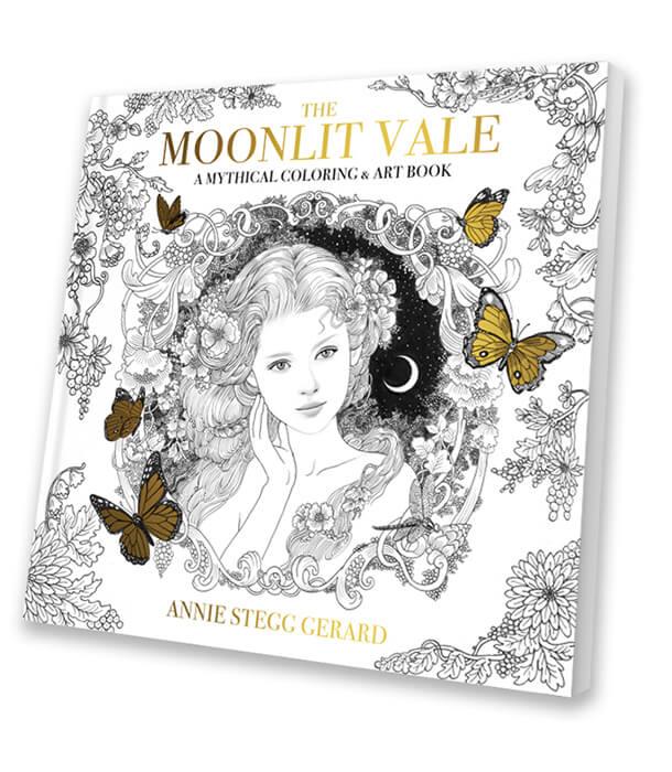 Раскраска The Moonlit Vale от Annie Stegg Gerard (изд. США)