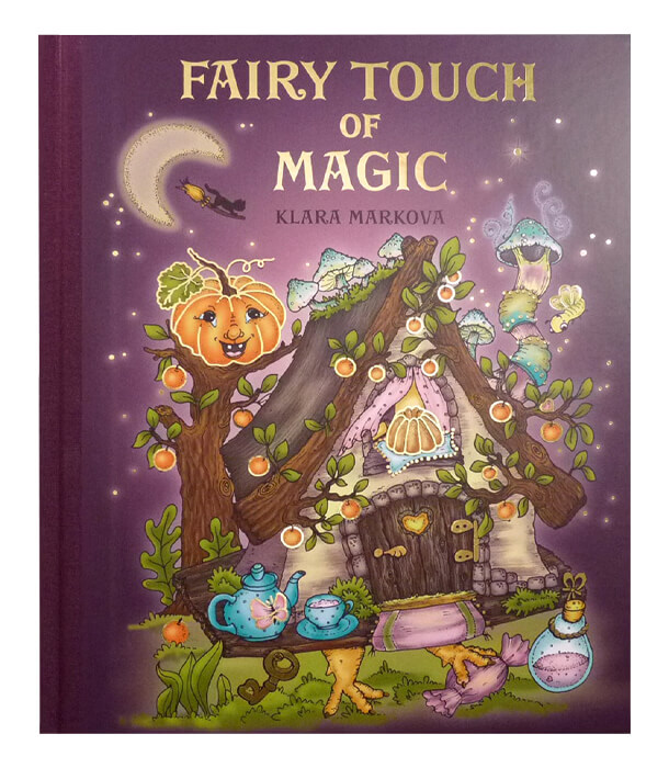 Раскраска Fairy Touch of Magic от Klara Markova