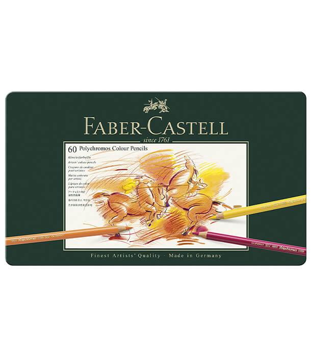 Набор карандашей Faber-Castell Polychromos (60 штук)