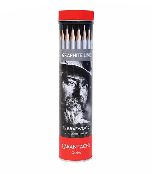 Caran d'Ache Grafwood Pencil Set (15 штук)