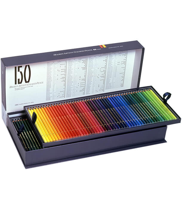 Набор карандашей Holbein Artists' Coloured Pencil (150 штук)