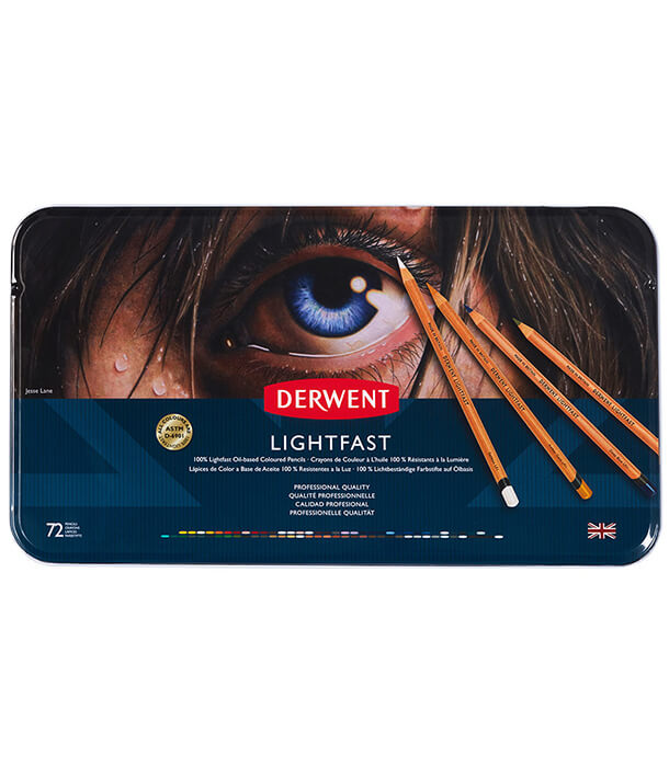 Набор карандашей Derwent Lightfast (72 штуки)