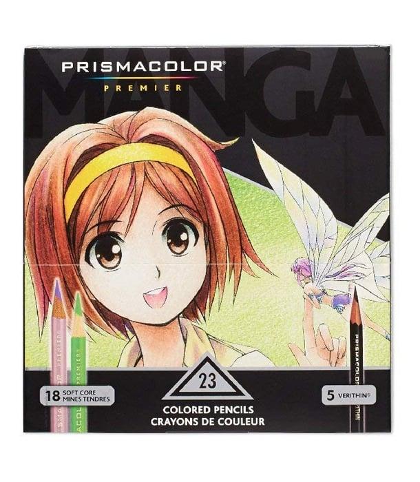 Набор Prismacolor Manga Colors (23 цвета)