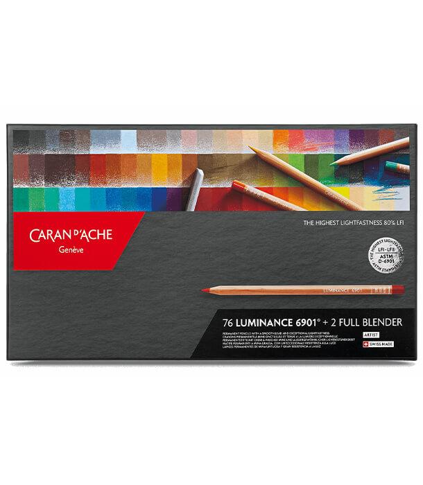 Caran d'Ache Luminance 6901 (76 цветов)