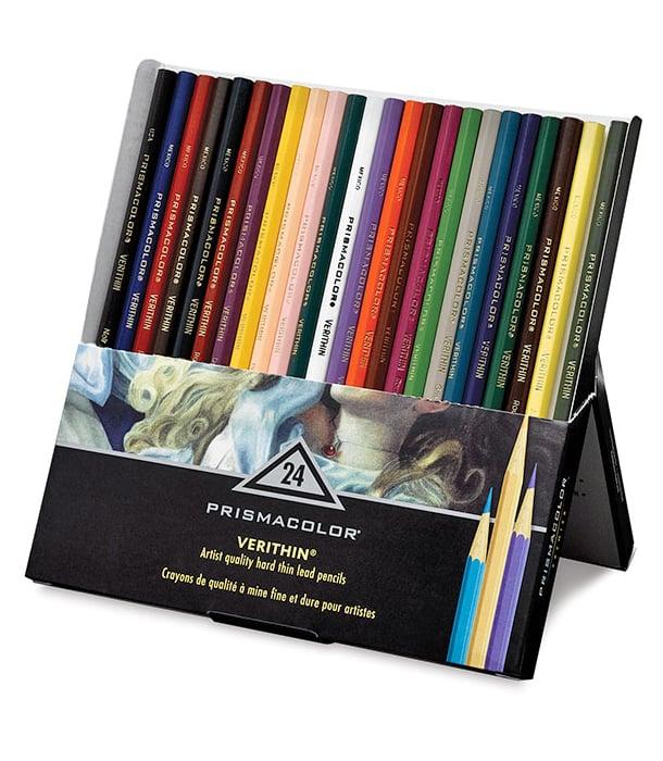 Набор карандашей Prismacolor Verithin (24 штуки)