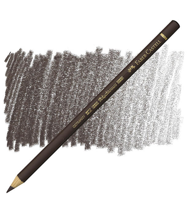 Карандаш Faber-Castell Polychromos 177 Walnut Brown