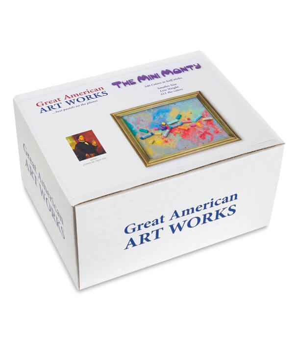 Пастель Great American Art Works Mini Monty Half-Sticks (546 штук)
