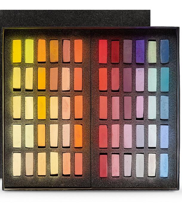 Пастель Terry Ludwig Soft Pastels - Sunrise-Sunset (60 штук)