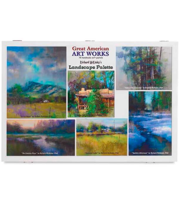 Пастель Great American Art Works Richard McKinley Landscape (78 штук)