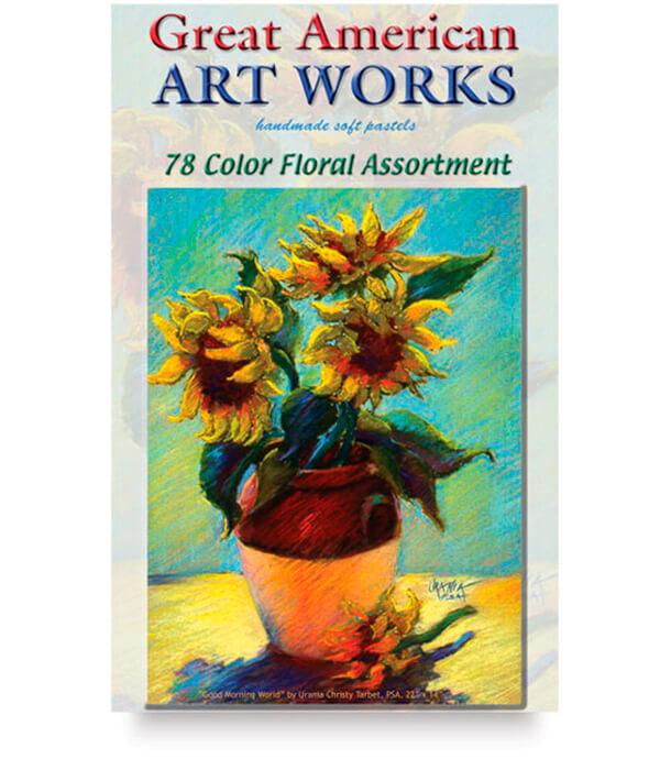 Пастель Great American Art Works Tarbet Floral (78 штук)