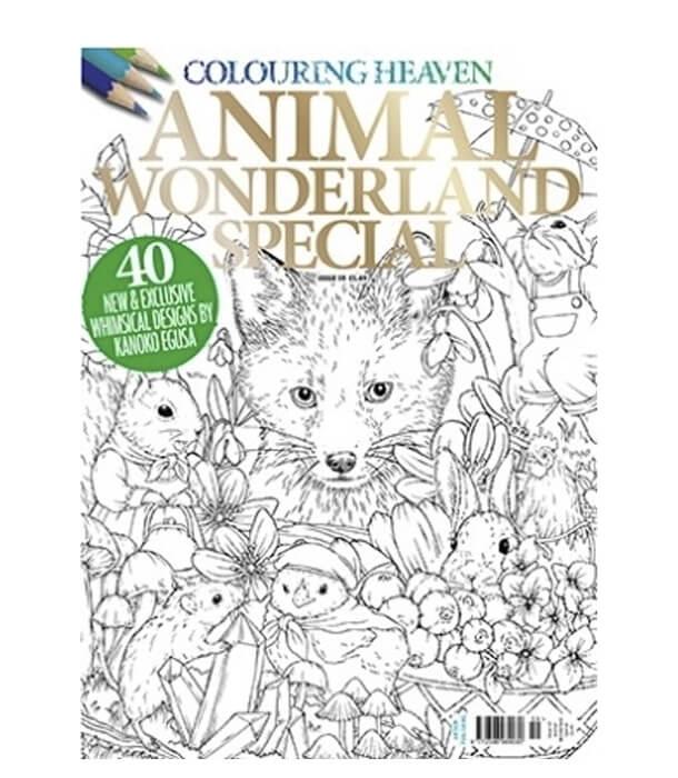 Раскраска Animal Wonderland Special (изд. Anthem Publishing Англия)