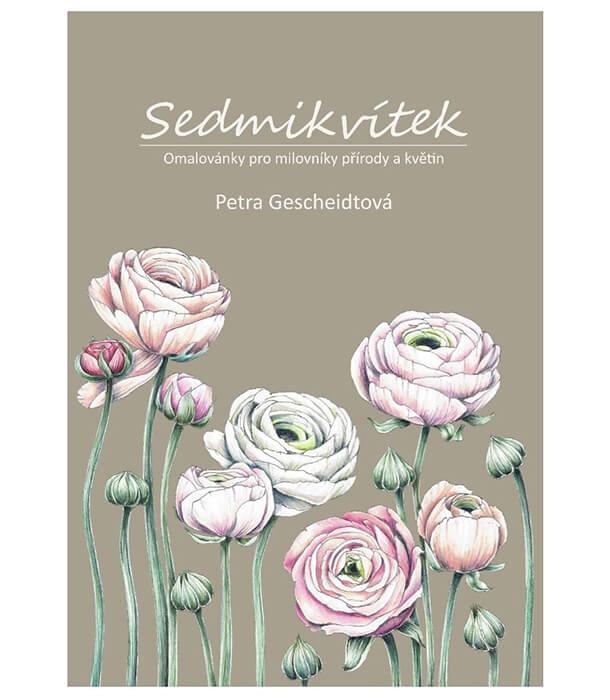 Раскраска Sedmikvítek от Petra Gescheidtová (изд. автора Чехия)