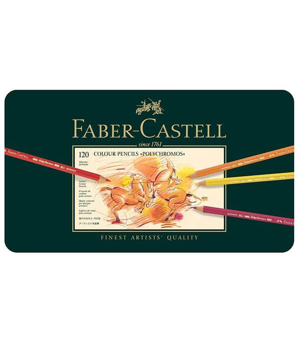 Набор карандашей Faber-Castell Polychromos (120 штук)
