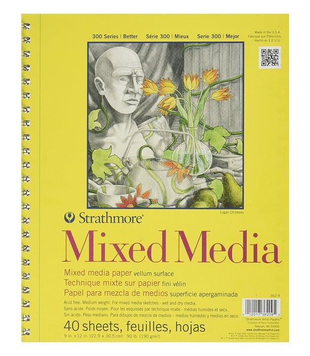 Альбом Strathmore Series 300 Mixed Media
