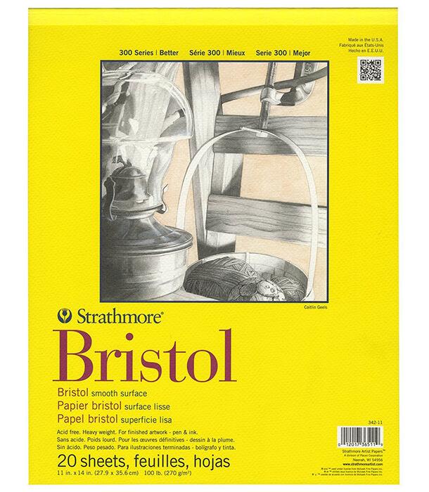 Альбом Strathmore Series 300 Bristol Smooth 11 × 14