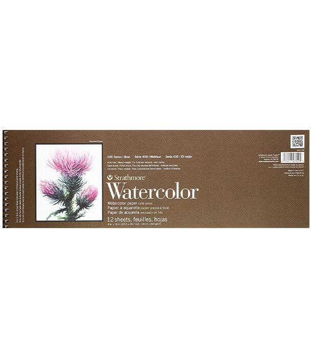Альбом Strathmore 400 Series Watercolor 6 × 18