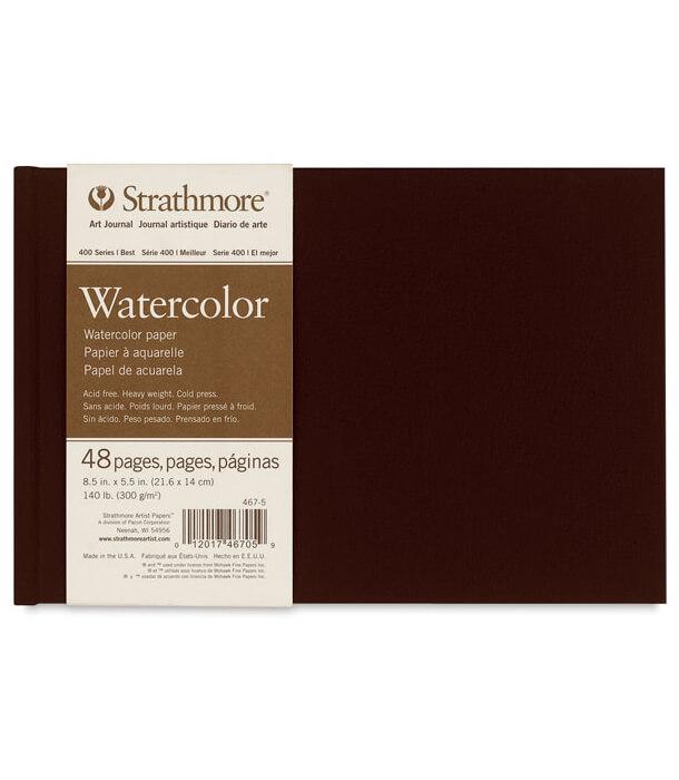 Блокнот для акварели Strathmore 400 Series Art Journal 5.5 × 8.5