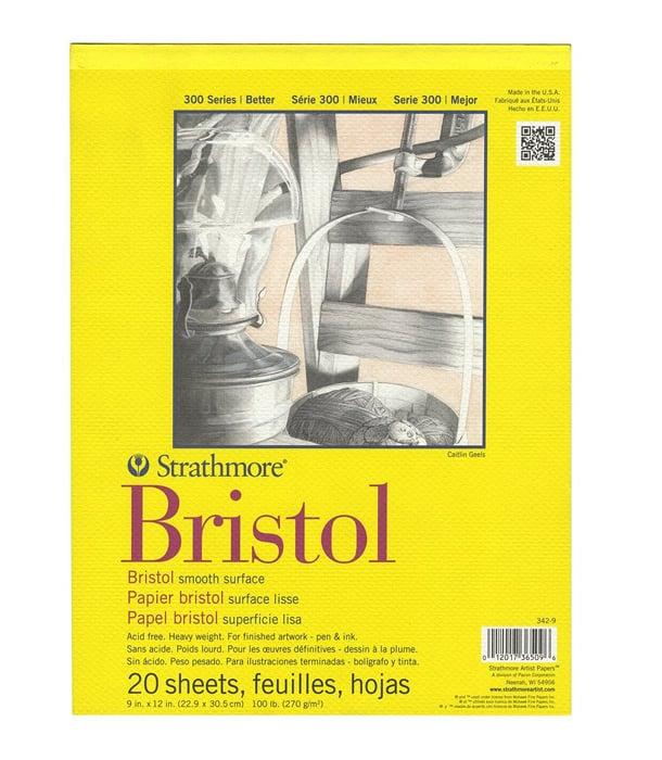 Альбом Strathmore Series 300 Bristol Smooth 9 × 12