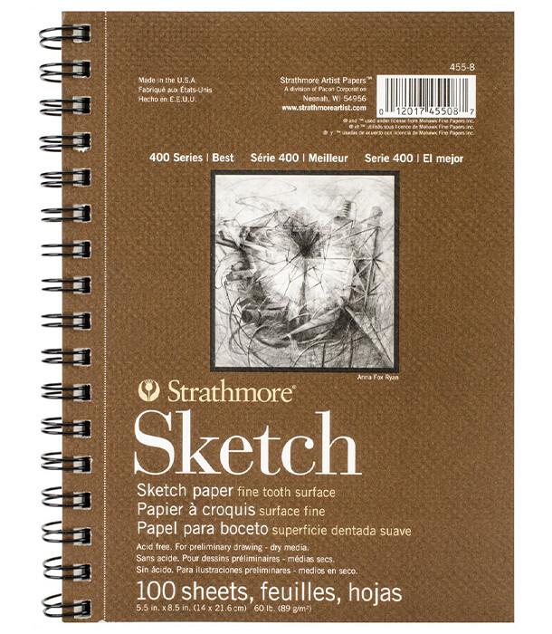 Альбом Strathmore Series 400 Sketch 5.5 × 8.5