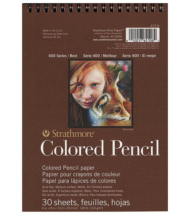 Альбом Strathmore Series 400 Colored Pencil 6 × 8