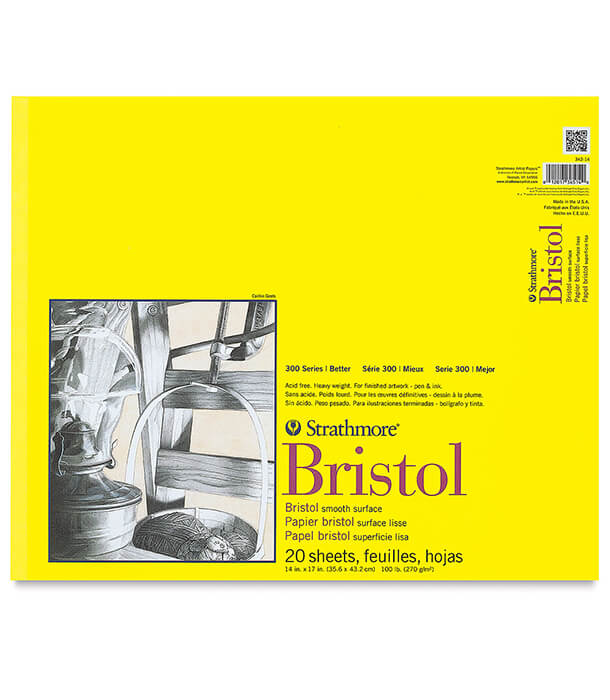 Альбом Strathmore Series 300 Bristol Smooth 14 × 17