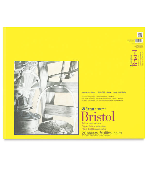 Альбом Strathmore Series 300 Bristol Smooth 19 × 24