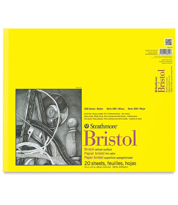 Альбом Strathmore Series 300 Bristol Vellum 14 × 17
