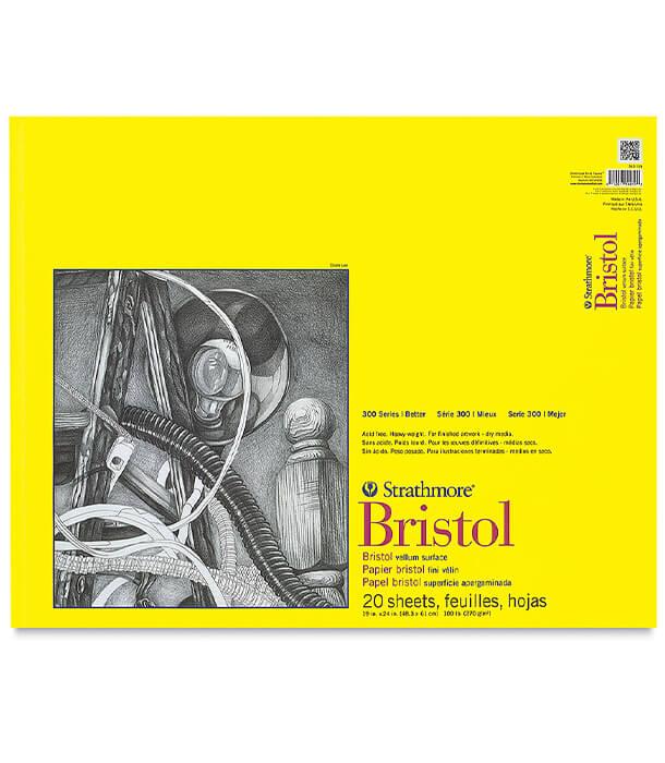 Альбом Strathmore Series 300 Bristol Vellum 19 × 24