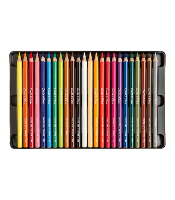 Набор пастельных карандашей Conté à Paris (24 штуки)