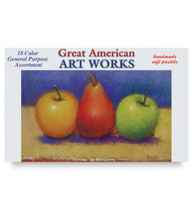 Пастель Great American Art Works General Purpose (18 штук)